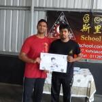 Apprentice Instructor (PFS) awarded by Sifu Ranil Piyarathne