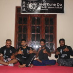 Trained group with instructors